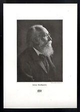 Der deutsche Musiker und Dirigent, Julius Christian Stockhausen Kunstdruck 1906
