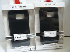 (Lot of 2) Case Mate Tough Stand Covers Samsung Galaxy S6 edge Black (SUPM44787)