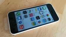 Apple iPhone 5c  32GB Weiss simlockfrei & brandingfrei & iCloudfrei ***TOPP***