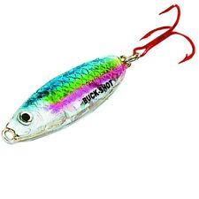 NEW Northland Buck-Shot Rattle Spoon 1/4oz Rainbow Trout BRS4-25