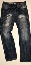 """Mens KOSMO LUPO Distressed Engineered Jeans Size W 32"""" L 32"""""""