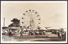 Hayling Island. Butlins Fun Fair. 1950's RPPC by hayling island Photographic