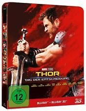 THOR RAGNAROK 3D (Blu-ray 3D + 2D Region-Free)~~~STEELBOOK~~~NEW & SEALED