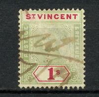 NNAO 097 St Vincent 1899 USED WMK CROWN CA