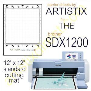 Scan N Cut SDX Artistix Pro Cutting Mat Carrier Sheet Scanncut 12 x 12 Brother