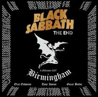 BLACK SABBATH - THE END (LIVE IN BIRMINHAM,2CD AUDIO)  2 CD NEW!