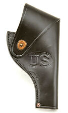 US Smith & Wesson Victory Model Revolver Holster in Black Leather .38 Special