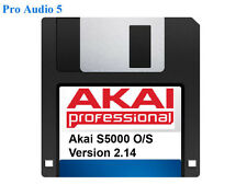 Akai s5000 S6000 Operating System on Floppy Disk Version 2.14