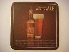 Beer Bar Coaster: BUDWEISER American Ale  ~ St. Louis, MISSOURI Brewing Company