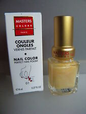 MASTERS COLORS COULEUR ONGLES VERNIS PARFAIT 01 NAIL COLOR PERFECT NAIL POLISH