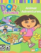 Dora the Explorer: Animal Adventures-Computer Game -Ages 3 and up-Nick Jr.