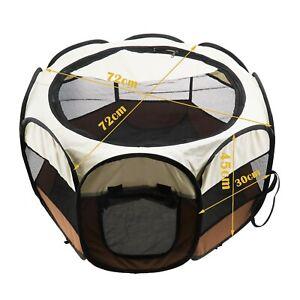 72x72x45cm/ 90x90x60cm Puppy Playpen Exercise Enclosures House Indoor Outdoor