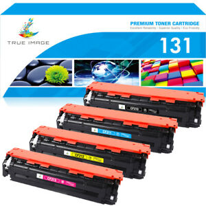 4PK Color Toner Compatible for HP CF210X 131X Laserjet Pro 200 MFP M276nw M251nw