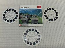 3 disques view -  master SUISSE état voir les 4 photos