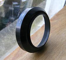 52mm wide angle  screw in Lens Hood  metal 72mm x 17mm japan