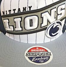 39278b23850 Penn State Nittany Lions Zephyr Brand Snapback Hat Flat Cap Officially  Licensed