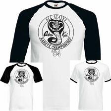 The Karate Kid T-Shirt Cobra Kai All States Karate Championships Mens Funny Top