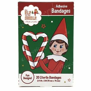 The Elf on the Shelf: Christmas 20 Pack Adhesive Sterile Bandages Sealed in Box