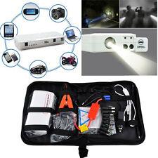 16800mAh Emergency Car Jump Starter Booster Power Bank LED Phone USB charger 12V