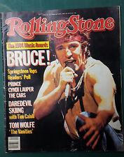Bruce Springsteen Rolling Stone Music Newspaper Magazine #442 Feb 28 1985