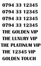 GOLD LUXURY VIP PLATINUM RARE 12345 BUSINESS MOBILE NUMBER - 12345 GOLD PLATINUM