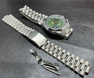 Presidential Bracelet For Seiko Alpinist 6R15-00E1  SABR017 , SARG005 6R15-02N0
