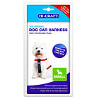 Dog Lead Harness Belt Puppy Guard Hi-Craft Car Clip Seat Travel Size Small