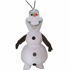 Hot Frozen Adult Olaf Snowman Mascot costume Fancy Dress Halloween Party Suit