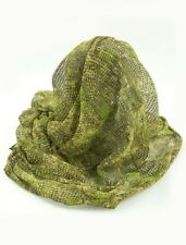 CAMO SCRIM NET SCARF FROGMAN TACTICAL MILITARY HUNTING CAMOUFLAGE FACE VEIL MESH