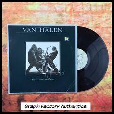 GFA Van Halen Bass Player * MICHAEL ANTHONY * Signed Record Album AD1 COA