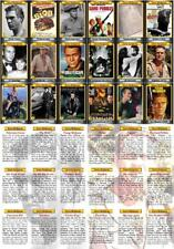 Steve McQueen Tribute Movie Trading Cards Great Escape Bullitt Magnificent 7