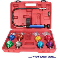 14 pcs Cooling System Radiator Pressure Tester Leak Detector KIT