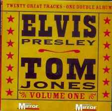 ELVIS PRESLEY / TOM JONES: UK PROMO 2 CD SET (2005) LONG TALL SALLY, RELEASE ME