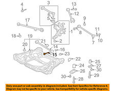 HONDA OEM Rear Suspension-Lower Arm Bolt 90110SDAA00