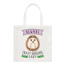 Beware Crazy Hedgehog Donna Borsa piccola - divertente animale spalla