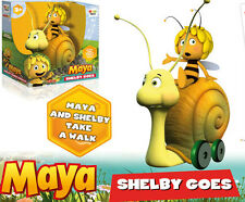 Gurney  Snail with bee Maya on wheels toy gift baby child party Yellow birthday