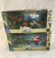 NewRay World Wide Wild Life - Toy Turkeys & Pheasants