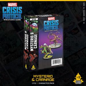 Marvel Crisis Protocol Miniatures Game - Mysterio & Carnage