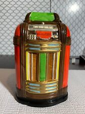 Beautiful Pottery Jukebox-Penny-Bank Whirlitzer. No Reserve.