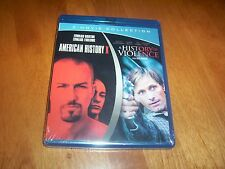 AMERICAN HISTORY X HISTORY OF VIOLENCE  Blu Ray 2 Movie Collection Blu-Ray NEW