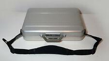 "Zero  Halliburton briefcase with strap 18"" x 13"" x 4"""