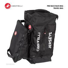 Castelli PRO RACE RAIN BAG Cycling Race Travel Luggage : BLACK