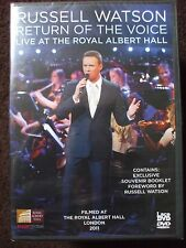 Russell Watson - Return Of The Voice - Live At The Royal Albert Hall DVD.SEALED.