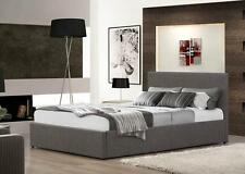 Fabric Faux Leather Crushed Velvet Beds 4 Sizes 6 Colours Next Day Delivery