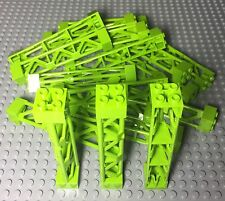 Lego X24 New Bulk Lime Green Support 2X2X10 Girder Triangular Vertical Parts