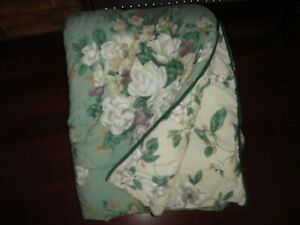 PENNEY GLYNDA TURLEY GREEN MAGNOLIA SOUTHERN TRADITION FULL/QUEEN COMFORTER