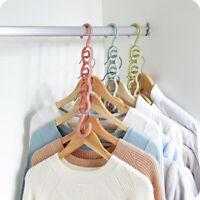 Foldable Magic Coat Hangers Clothes Hanger Anti-skid Multifunction Hangers Hook