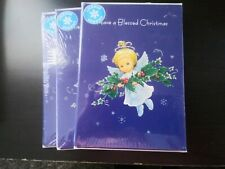 NIP Lot 3 Packages Ruth Morehead Angel Christmas Cards Count Of 18 Dated 2009