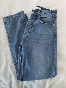 Dissh High Waisted Button Up Jeans