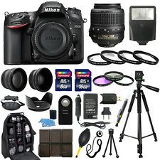 Nikon D7200 DSLR Camera + 18-55mm NIKKOR Lens + 30 Piece Accessory Bundle